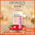 Lip Balm Strawberry Pelembab Bibir Mosturizing Bioaqua