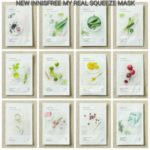 NEW Innisfree My Real Squeeze Mask Import Asli Korea