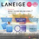Water Sleeping Mask And Tone Up Laneige All Varian (Pelembab Wajah Colagen)