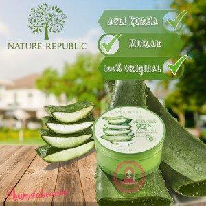 Nature Republic Aloe Vera 92% Soothing Gel Original Korea Kode TY