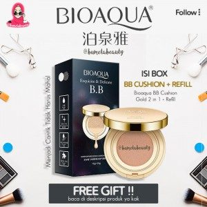 Bioaqua BB Cushion Gold + Refill 2in1 Liquid Original