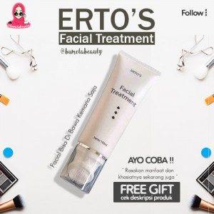 ERTOS Facial Wash Treatment Brightening Original