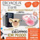 Paket Bioaqua Beauty Premium +Refill (BB Cushion + Blush On) Termurah