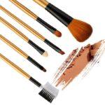 MAANGE 6 Pcs Makeup Brush Lembut Cocok Untuk Pemula
