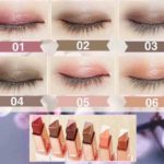 Novo Two Tone Eyeshadow Glitter Color Waterproof Kosmetik Mata
