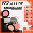 Focallure Blush On Powder Face Mineral Pigment Blusher Natural
