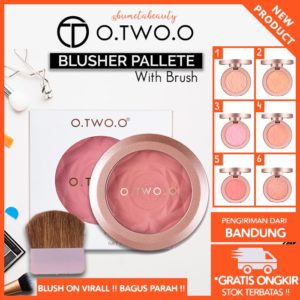 O.TWO.O Blush On Matte Pallete Baked Powder Blusher