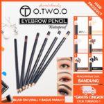 O.TWO.O Pensil Alis Eyebrow / Eyeliner Waterproof & Tahan Lama