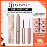 O.TWO.O Liquid Eyeliner Warna Hitam Waterproof Dan Tahan Lama