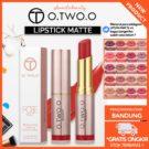 O.TWO.O Lipstik Matte+Pelembab Kosmetik Makeup