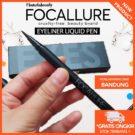 Focallure Eyeliner Liquid Pen Hitam Tahan Lama Original Bandung
