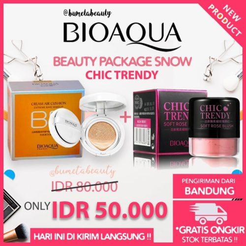 Paket Bioaqua Beauty Chic Trendy Snow