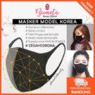Masker Wajah & Mulut Korea Untuk Dewasa Anak