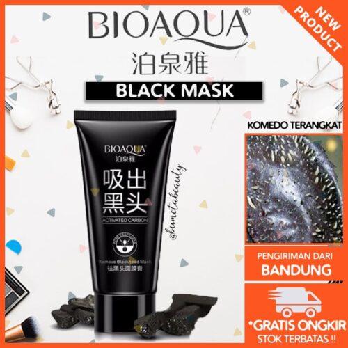 Masker Charcoal Bioaqua untuk Hidung / Wajah