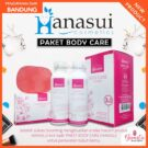 Paket Hanasui Body Care Pemutih Badan 3in1 (1 Sabun + 2 Lotion Day Night)